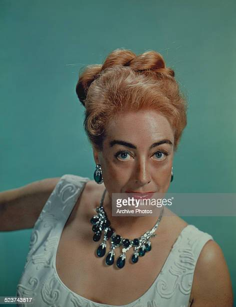 American actress Joan Crawford 1959