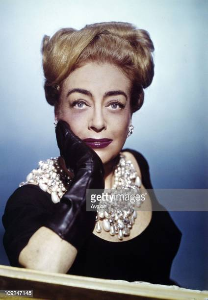 American Actress Joan Crawford