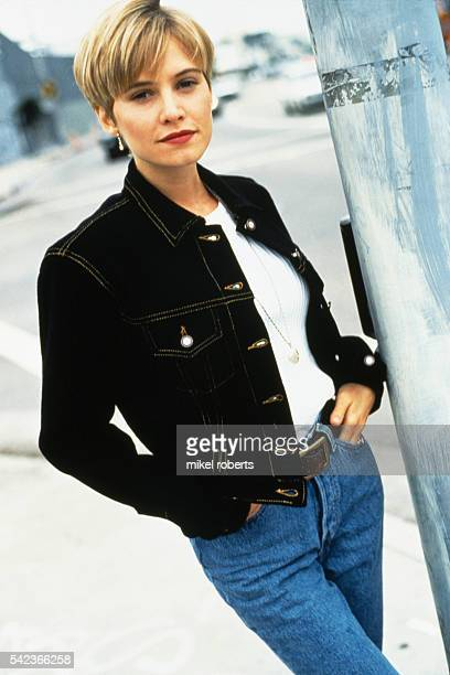 American actress Josie Bisset from television series Melrose Place