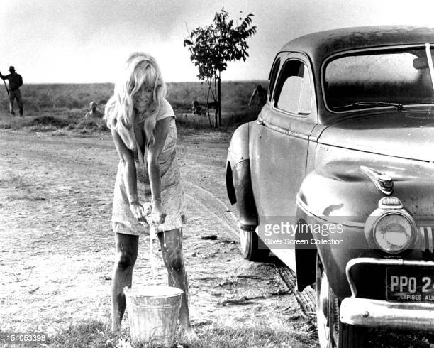 American actress Joy Harmon as Lucille in 'Cool Hand Luke' directed by Stuart Rosenberg 1967