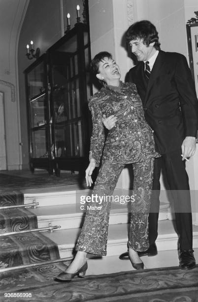 American actress Judy Garland and her fiance American musician and entrepreneur Mickey Deans UK 31st December 1968