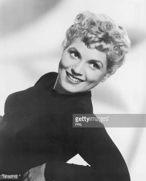 American actress Judy Holliday circa 1952