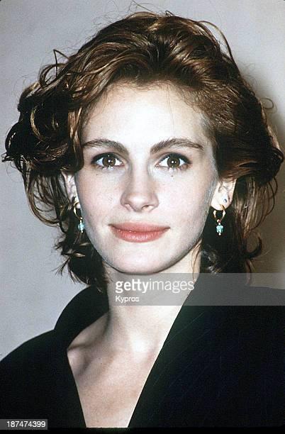 American actress Julia Roberts, circa 1990.