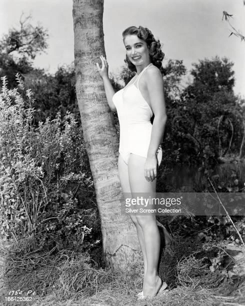 American actress Julie Adams as Kay Lawrence in 'Creature From The Black Lagoon' directed by Jack Arnold 1954