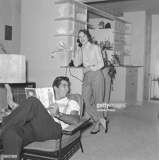 Coleton Ray Actor Home: Julie Adams Stock Photos And Pictures