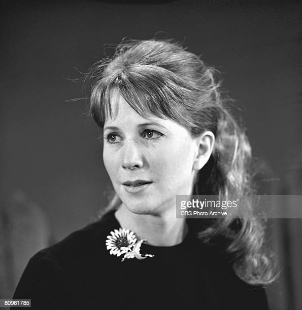 American actress Julie Harris in rehearsal for 'The DuPont Show of the Month' television movie of 'The Night of the Storm' March 2 1961 Directed by...
