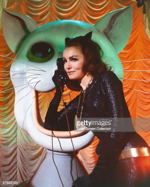 American actress Julie Newmar as Catwoman in the 'Batman' TV series circa 1966