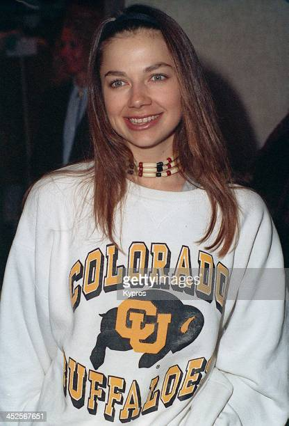 American actress Justine Bateman circa 1993