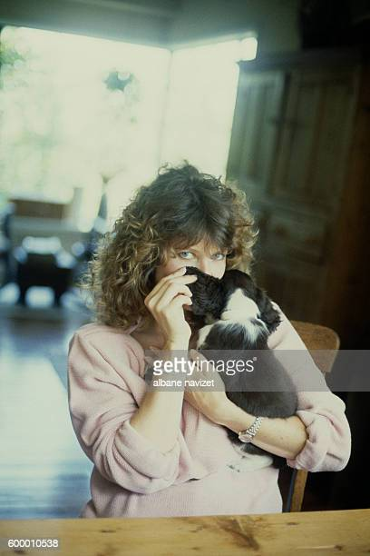 American actress Kate Capshaw wife of director screenwriter and producer Steven Spielberg
