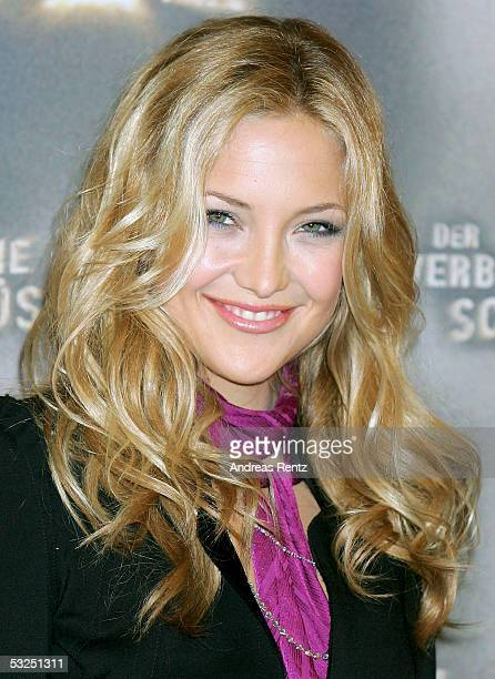 American Actress Kate Hudson attends a photocall to promote her latest Movie Der Verbotene Schlussel on July 18 2005 in Hamburg Germany The European...