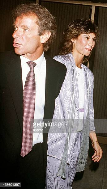 American actress Kate Jackson with Richard Cohen circa 1985