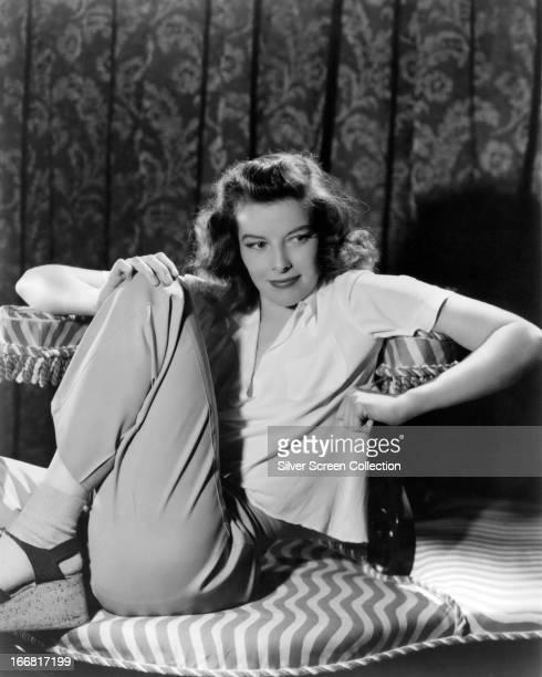 American actress Katharine Hepburn circa 1940