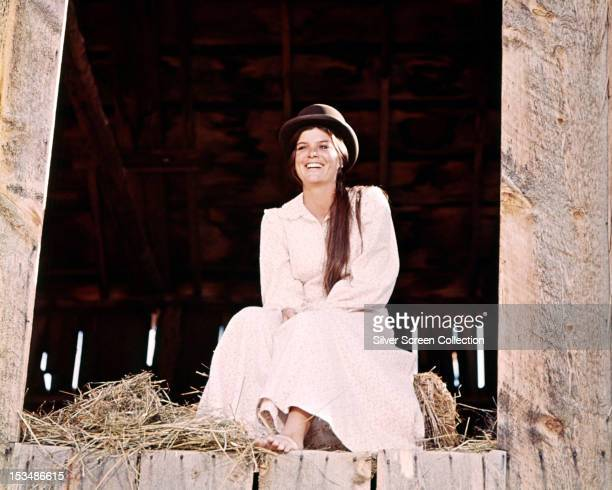 American actress Katharine Ross as Etta Place in 'Butch Cassidy And The Sundance Kid' directed by George Roy Hill 1969