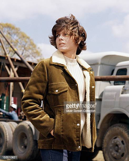 American actress Katharine Ross as Tish Buckman in 'Hellfighters', directed by Andrew V McLaglen, 1968.