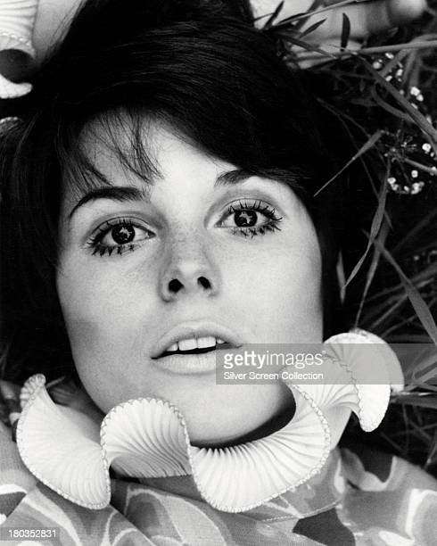 American actress Katharine Ross in a pierrotstyle collar circa 1970