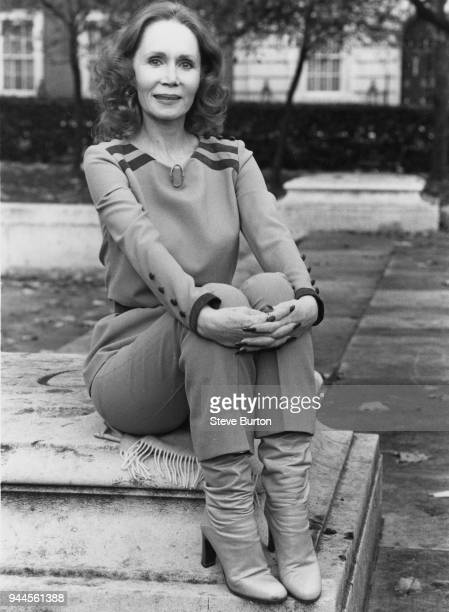 American actress Katherine Helmond during a visit to London 23rd November 1979 She stars as Jessica Tate on the ABC soap opera/sitcom 'Soap'