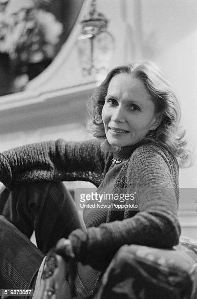 American actress Katherine Helmond pictured in London on 22nd November 1979