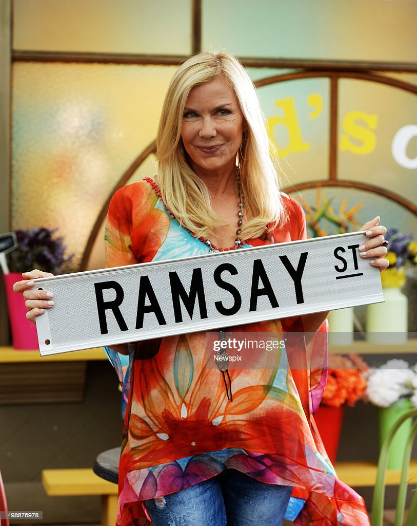 Katherine Kelly Lang On The Set of \u0027Neighbours\u0027 Photos and Images ...