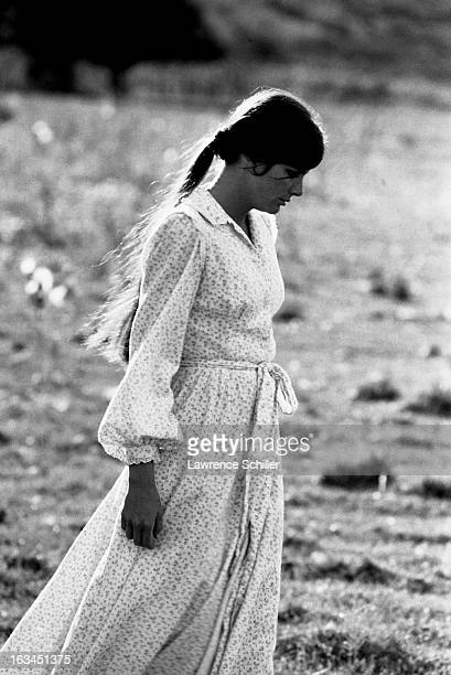American actress Katherine Ross in a scene from the film 'Butch Cassidy and the Sundance Kid' , Durango, Mexico, 1968.