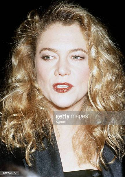 American actress Kathleen Turner circa 1990