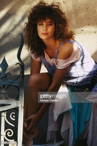 American Actress Kelly LeBrock
