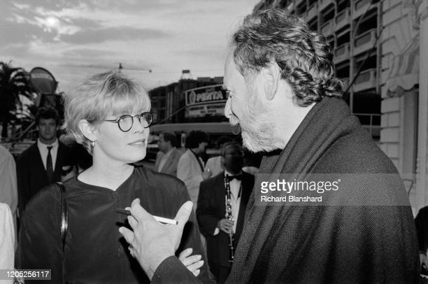 American actress Kelly McGillis at the 44th Cannes Film Festival Cannes France MAy 1991