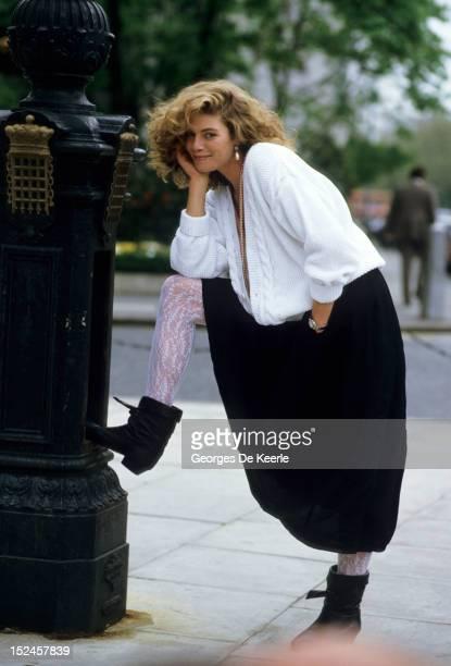 American actress Kelly McGillis in London 15th May 1985