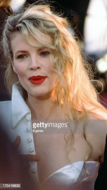 American actress Kim Basinger, circa 1990.