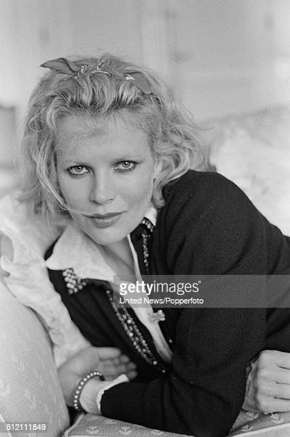 American actress Kim Basinger posed at the Savoy Hotel in London on 13th September 1984