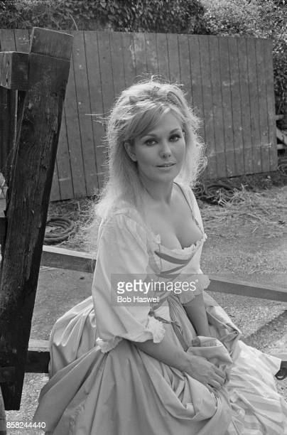 American actress Kim Novak as 'Moll Flanders' on the set of british historical comedy film 'The Amorous Adventures of Moll Flanders', 10th September...