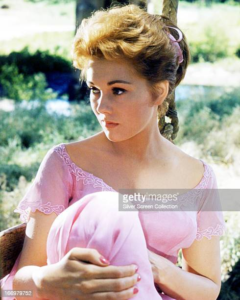 American actress Kim Novak as she appears in 'Picnic', directed by Joshua Logan, 1955.