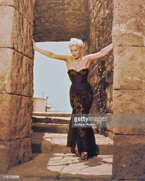 American actress Kim Novak poses circa 1956.