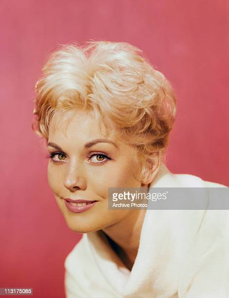 American actress Kim Novak poses circa 1956