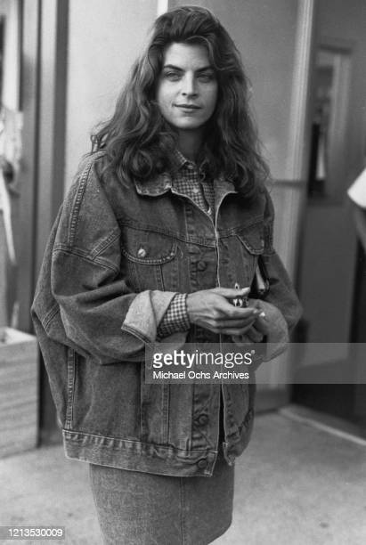 American actress Kirstie Alley circa 1986 She is soon to star in the NBC sitcom 'Cheers'