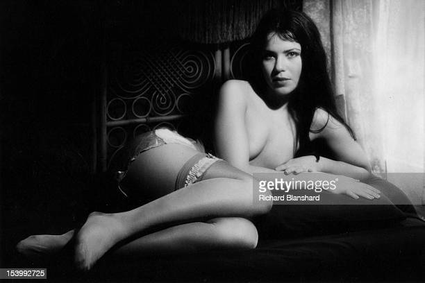 American actress Koo Stark as she appears in the softcore erotic film 'Emily' directed by Henry Herbert UK 1976 Stark's appearance in the film later...