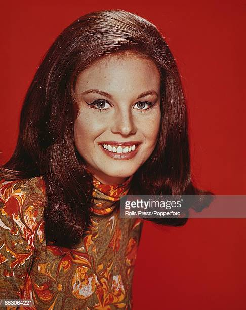 American actress Lana Wood who plays the role of Sandy Webber in the television soap opera Peyton Place posed circa 1966