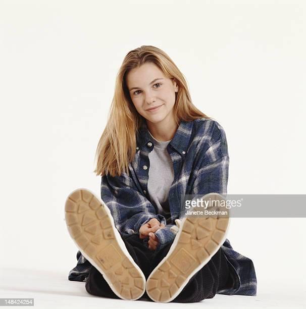 American actress Larisa Oleynik New York City 1998