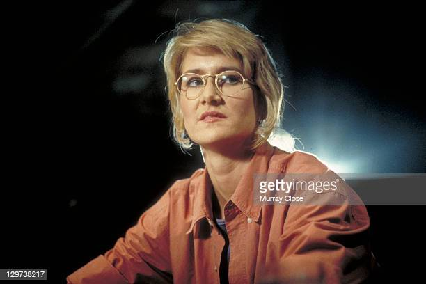 American actress Laura Dern as Dr Ellie Sattler in a scene from the film 'Jurassic Park' 1993