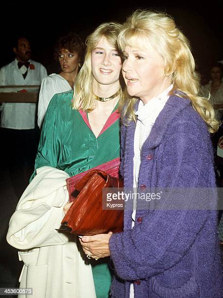 American actress Laura Dern with her mother actress Diane Ladd circa 1990