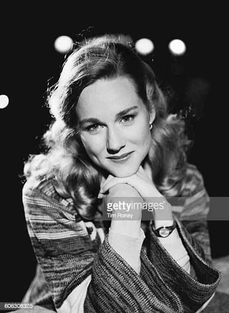 American actress Laura Linney star of the television miniseries 'Tales of the City' 21st June 1993 The series was based on the first of the 'Tales of...