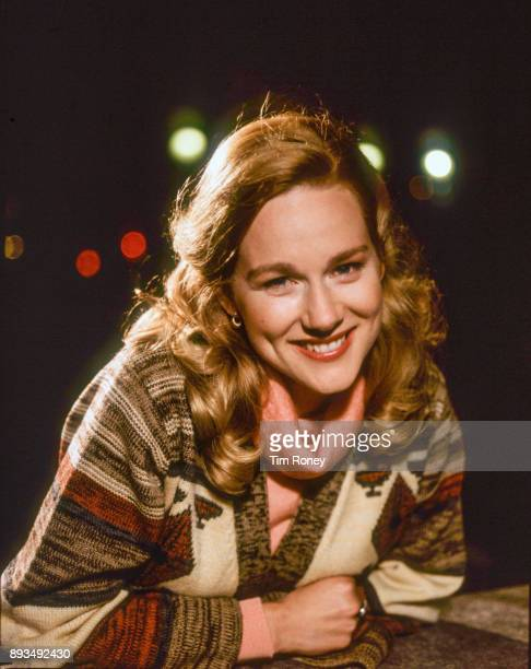 American actress Laura Linney who plays Mary Ann Singleton in TV series 'Tales Of The City' portrait United Kingdom 1993