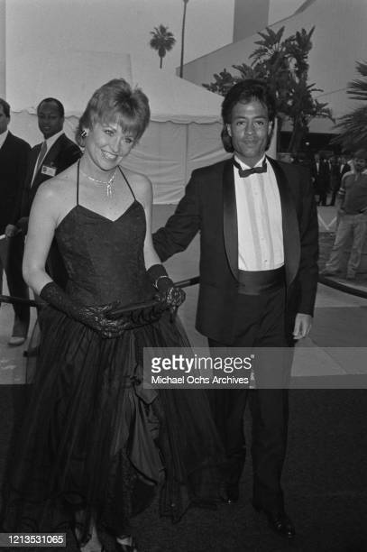 American actress Lauren Tewes attends the Third Annual Television Academy Hall of Fame induction ceremony in Santa Monica California 1986