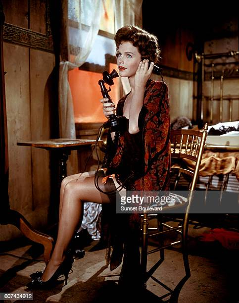 American actress Lee Remick on the set of Sanctuary directed by Tony Richardson