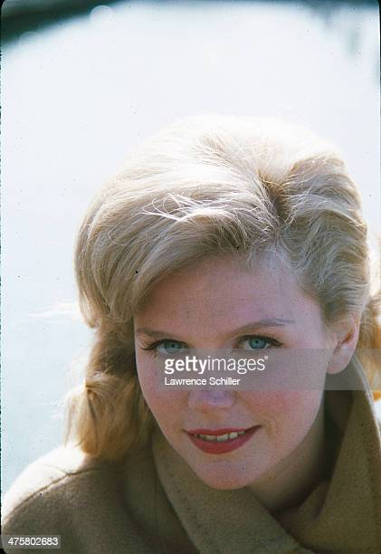 American actress Lee Remick on the set of the film 'Days of Wine and Roses' San Francisco California 1961