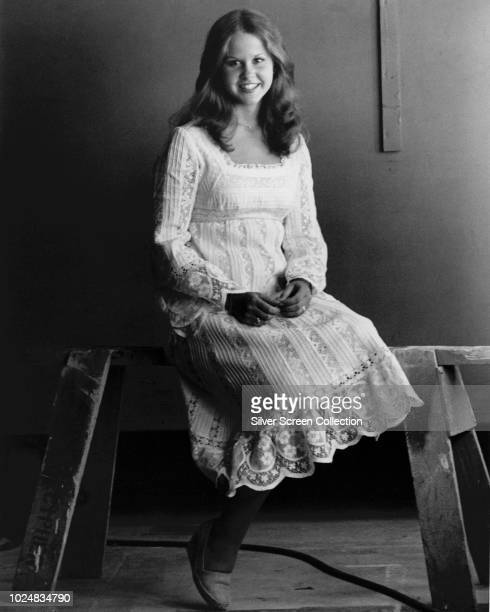 American actress Linda Blair reprises her role as Regan MacNeil in the horror sequel 'Exorcist II The Heretic' 1977