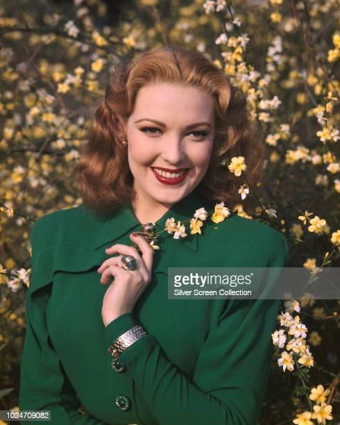 American actress Linda Darnell circa 1955