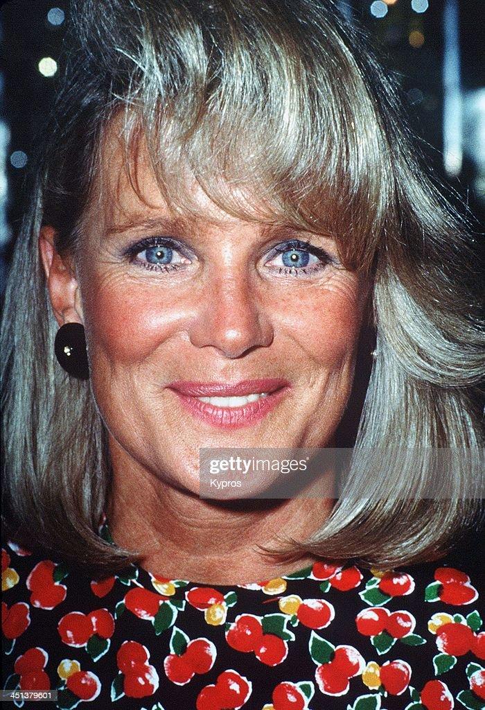 American actress Linda Evans, circa 1990.