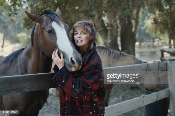 American actress Linda Gray star of the television soap opera 'Dallas' circa 1980