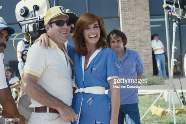 American actress Linda Gray star of the television soap opera 'Dallas' circa 1980