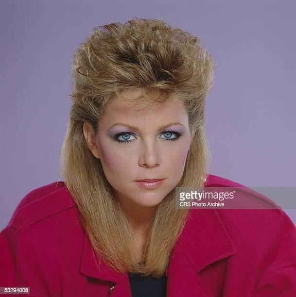 American actress Lisa Hartman of the CBS prime time soap opera 'Knot's Landing' November 1982